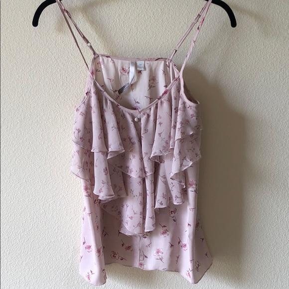 9dd6e067e98f8 LC Lauren Conrad Tops - LC Lauren Conrad Romantic Pink Camisole Tank Top